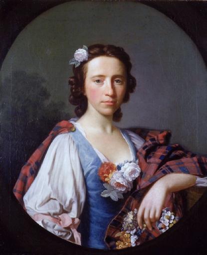Flora Macdonald, by Allan Ramsay