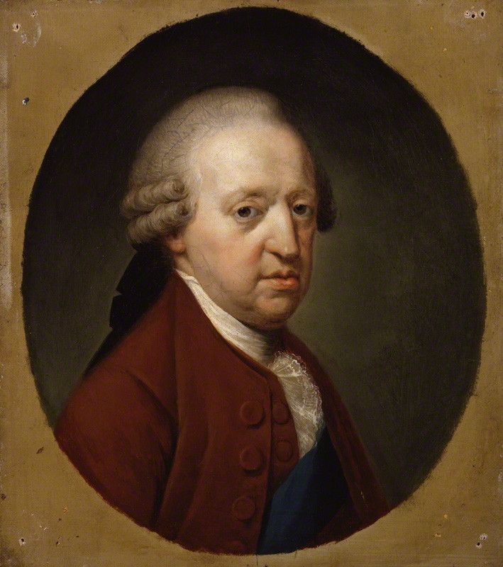 Ritratto di un vecchio Charles Edward Stuart, eseguito da Hugh Douglas Hamilton nel 1785