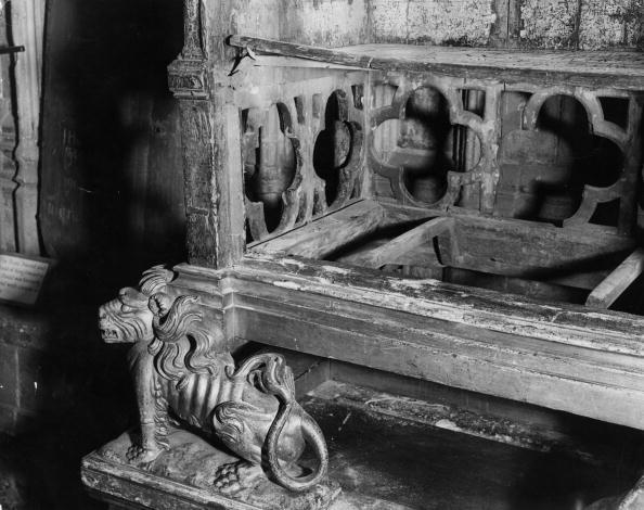 27 dicembre 1950: la coronation chair vuota, dopo il furto della Pietra