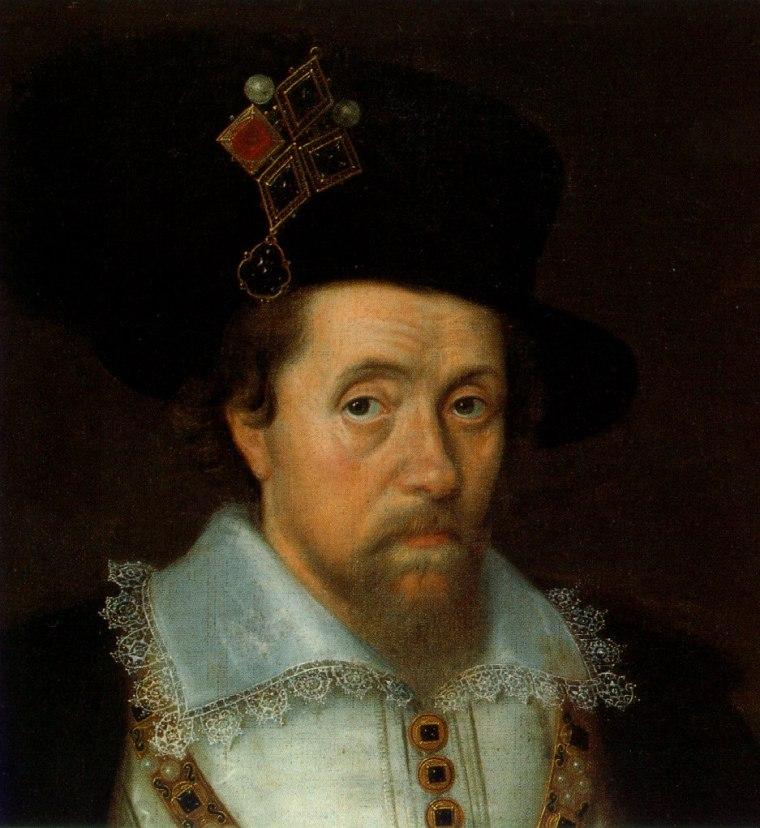 Ritratto di James Stuart, I d'Inghilterra e VI di Scozia
