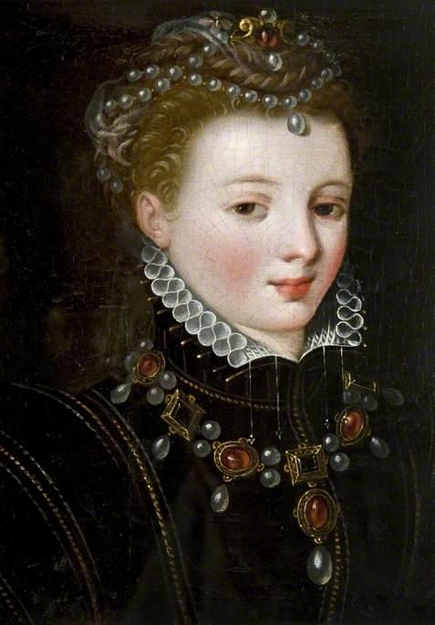 Ritratto di una giovane Mary Stuart, artista sconosciuto