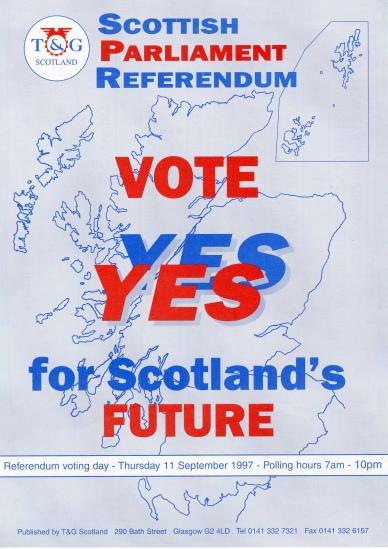 propaganda a favore dell'indipendenza parlamentare scozzese
