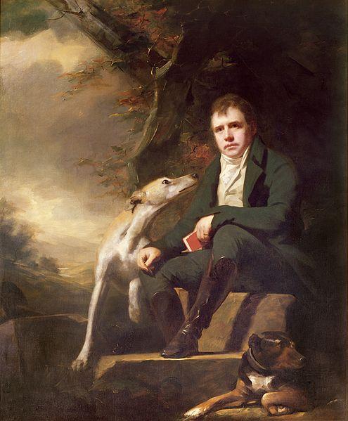 Ritratto di Sir Walter Scott, di Henry Raeburn, datato 1820