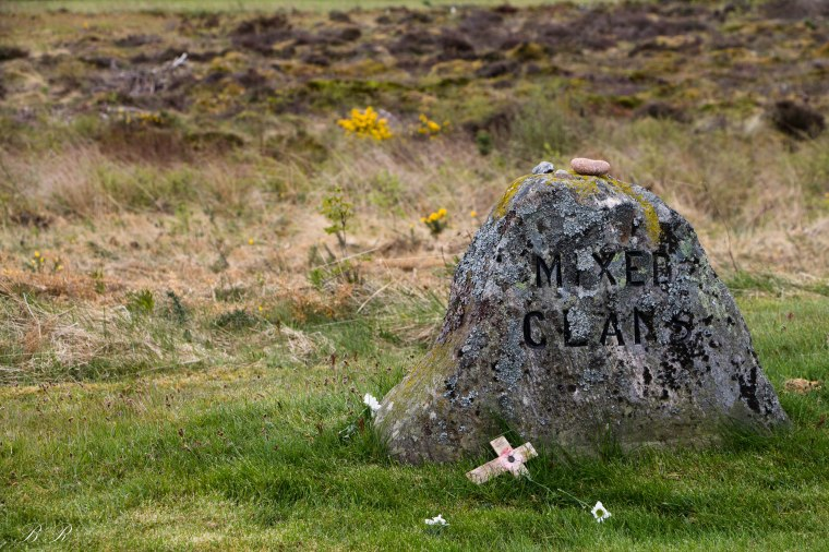 mixed clan culloden