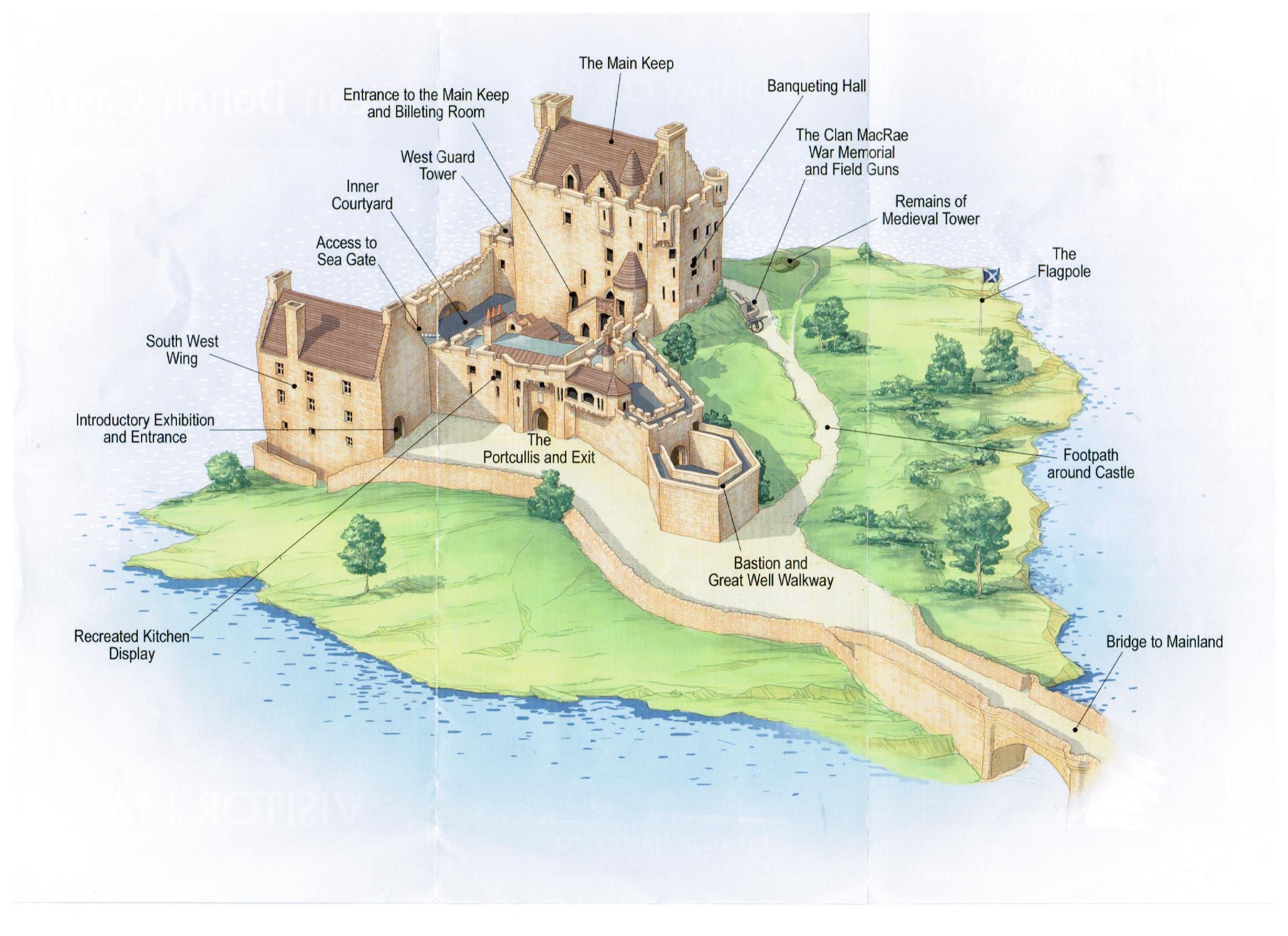 Balmoral Floor Plan Eilean Donan Castle Nel Cuore Della Scozia
