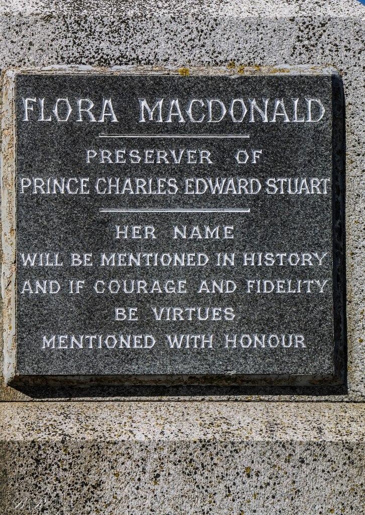 kilmuir cementery flora macdonand grave