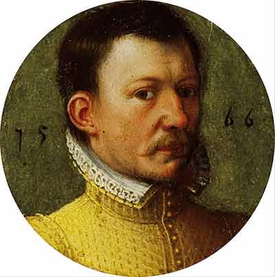 James Hepburn Conte Bothwell in un ritratto del 1566