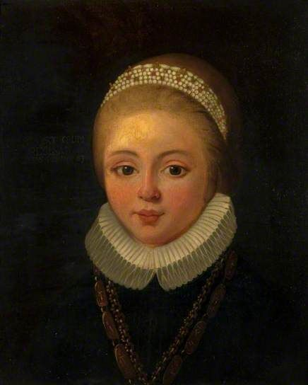 Mary queen of Scots as a child - John Österlund