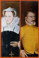 Mary Stuart e James Hepburn conte Bothwell
