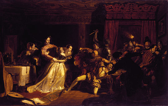 The murder of rizzio by William Allen