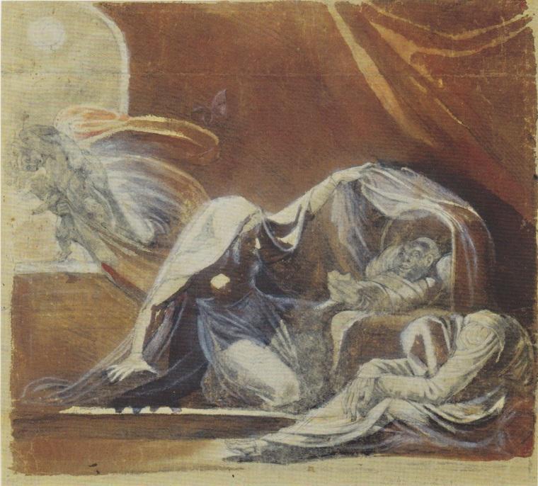 Der Wechselbalg. Il changeling, di Henry Fuseli 1780