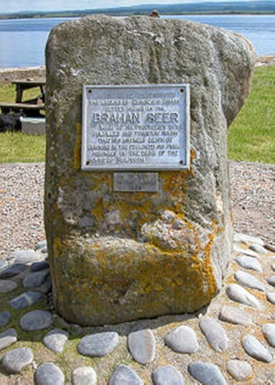 Chanonry Point brahan seer memorial
