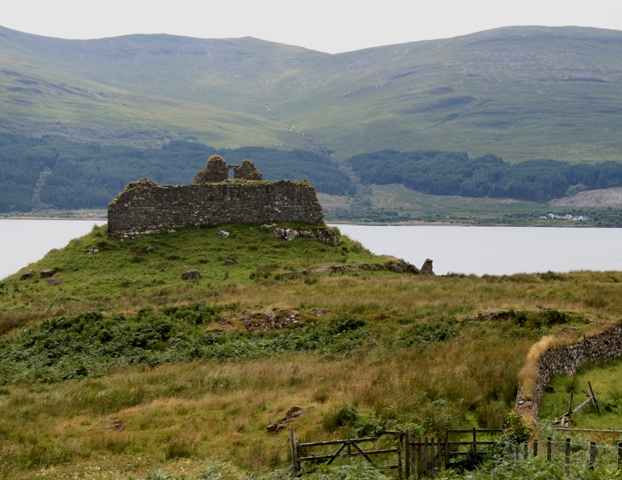 Ardtornish Castle oggi