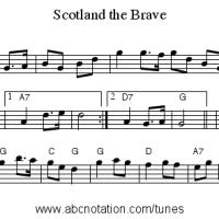 Scotland the brave, inno non ufficiale della Scozia