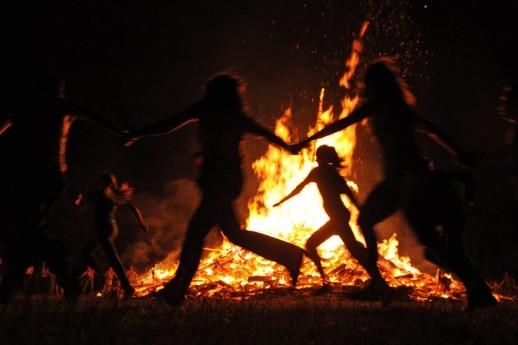 bonfire fuoco halloween samhain