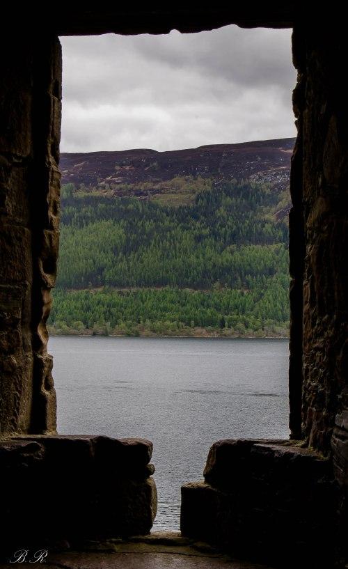 Veduta verso il Loch Ness