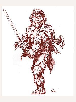 Fachen legend scotland mitologia scozzese leggende