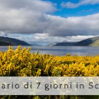 Scozia: itinerario di 7 giorni per esplorare le bellezze classiche scozzesi