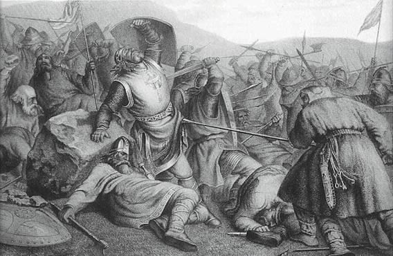 Immagine che rappresenta la battaglia di Largs