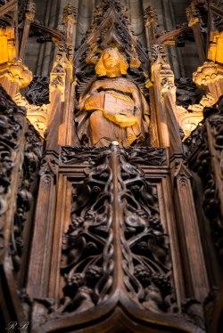 Un particolare della Thistle Chapel