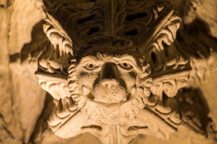 Particolare alla Rosslyn Chapel