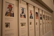 Una serie di immagini rappresentanti i re scozzesi