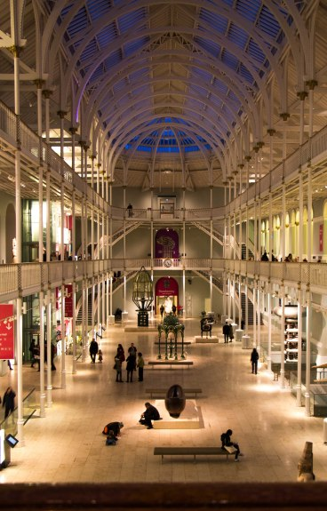 National Museum Scotland Edinburgh: la Hall