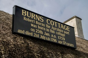 Burns Cottage Alloway