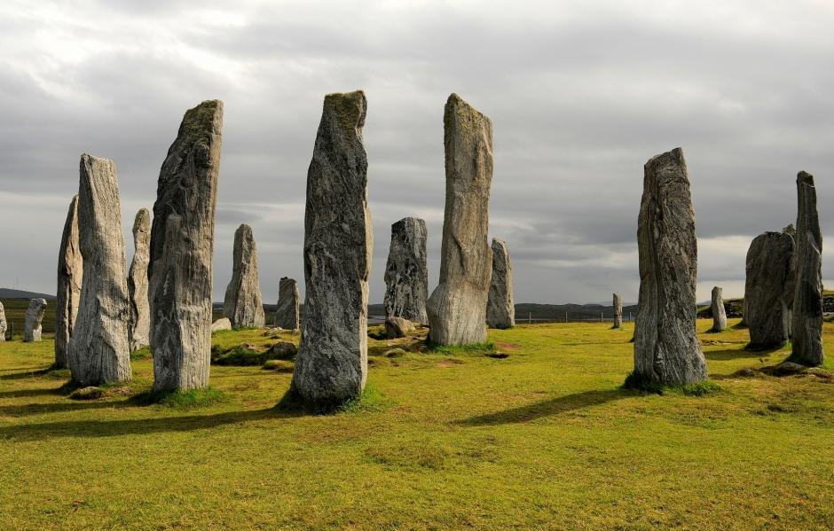 Una bellissima immagine delle Callanish Standing Stones sull'isola di Lewis scattata dall'amica Ilaria Battaini (http://ilariabattaini.it/)