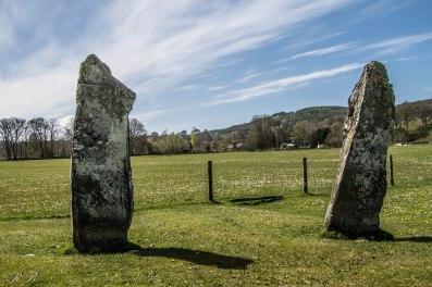 Due delle numerose Standing Stones a Kilmartin