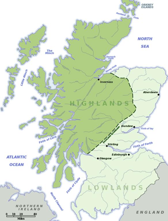 La Cartina Della Scozia.Scozia Uno Sguardo D Insieme Nel Cuore Della Scozia