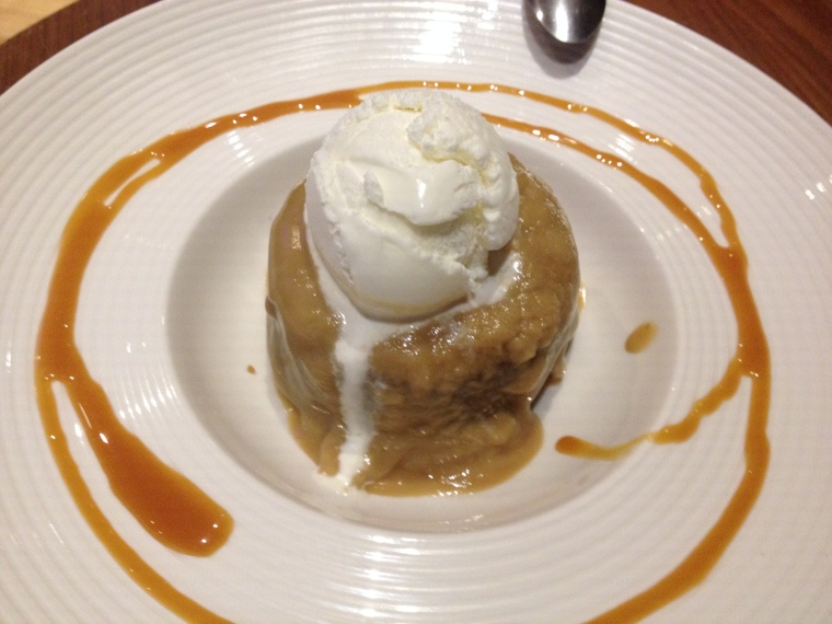 sticky tofee pudding