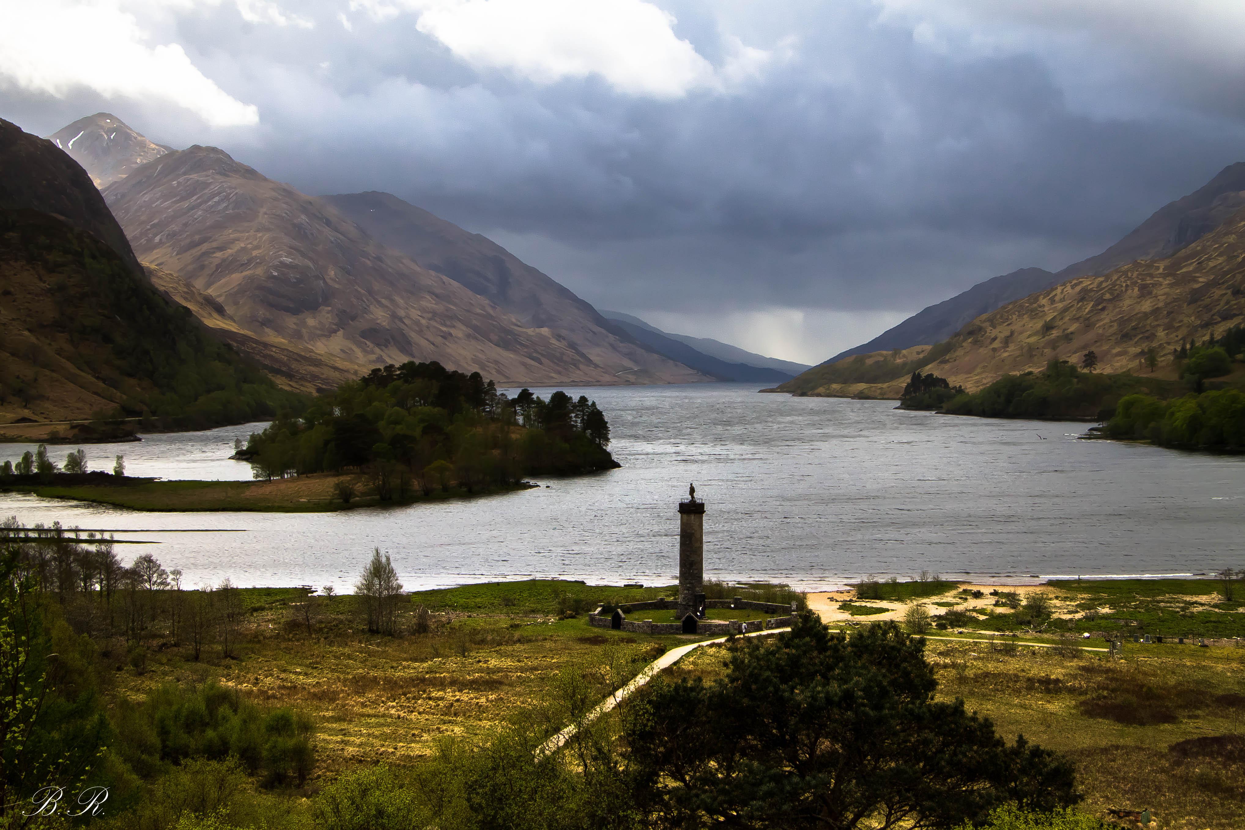 Glenfinnan Monument Loch Shiel