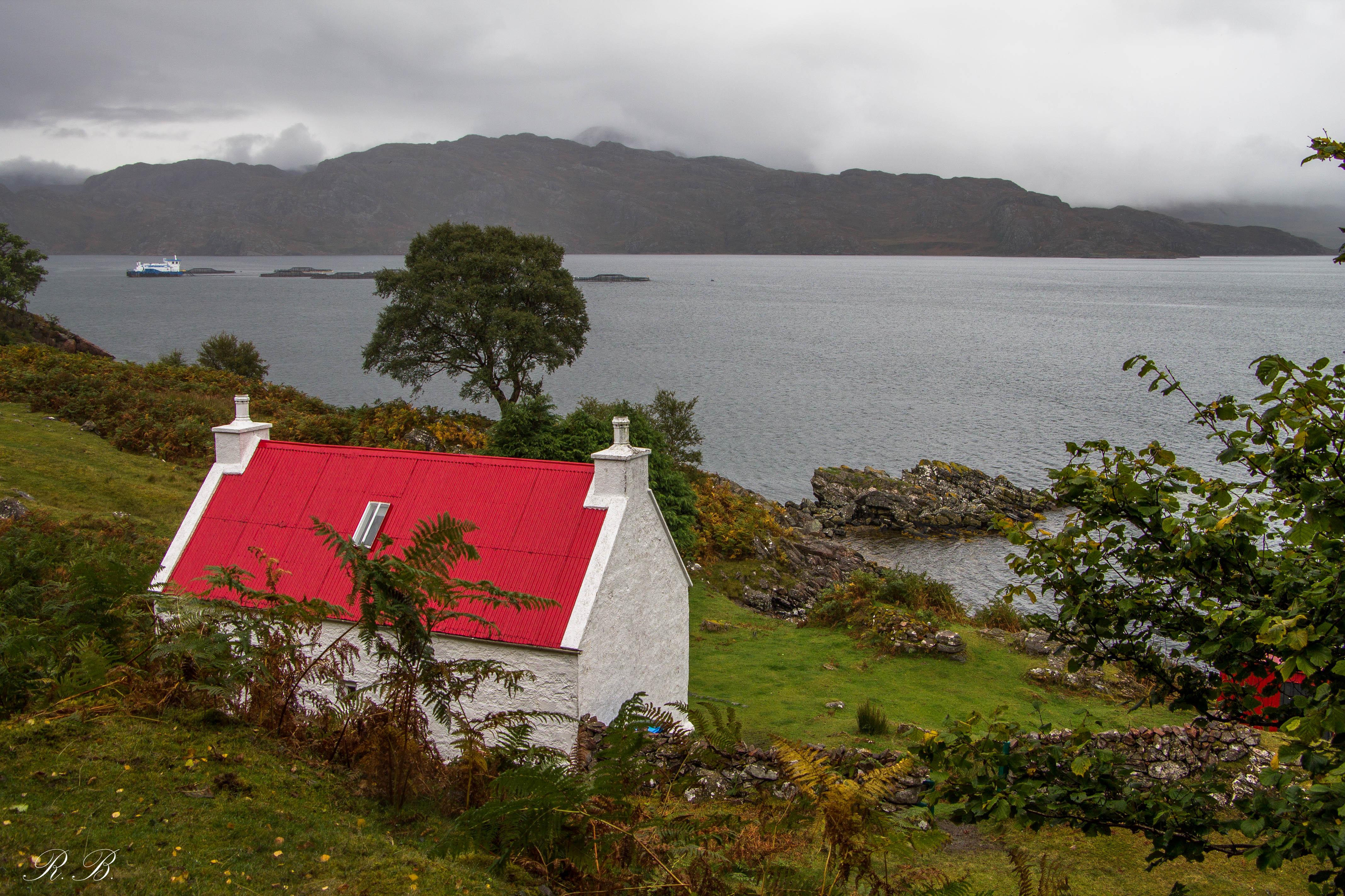 Il Red Roof Cottage, una classica immagine da Shieldaig