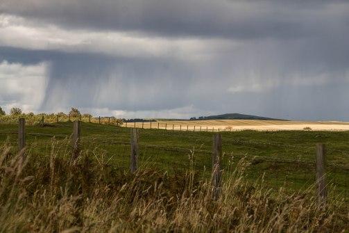 Il temporale in arrivo nell'entroterra