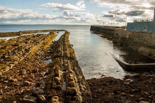 Formazioni rocciose lungo la costa
