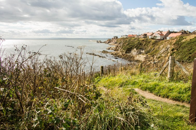 Pittenweem all'orizzonte