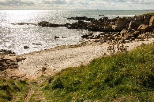 La spiaggia fatta di conchiglie