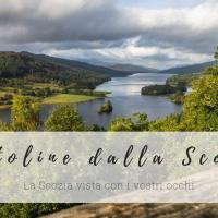 Cartoline dalla Scozia // Giugno: panchine con vista