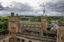 Vista dalla torretta del palazzo