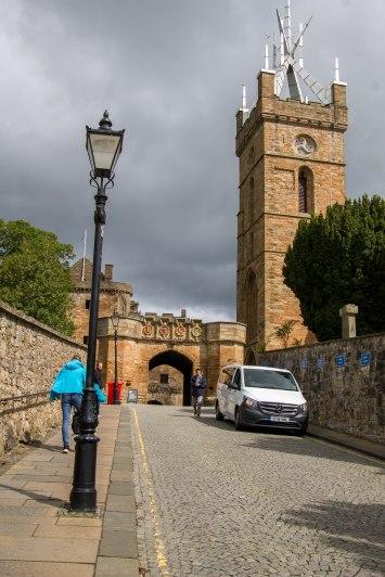L'entrata di Linlithgow Palace
