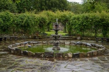 La fontana del Walled Garden