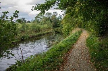 Sentiero lungo il fiume Lossie