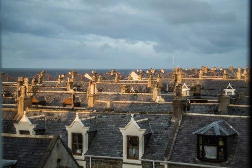I tetti di Portknockie, anche questi tutti uguali :P